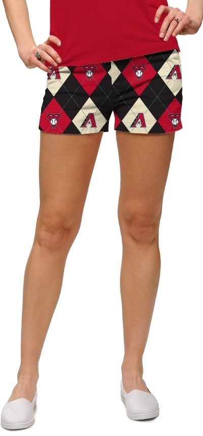 Diamondbacks Argyle StretchTech Women's Mini Short MTO