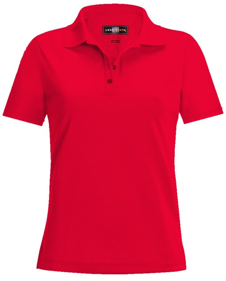 Women Essential Fiery Red Shirt