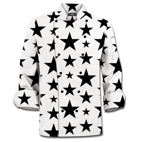 Five Stars Chef Coat MTO