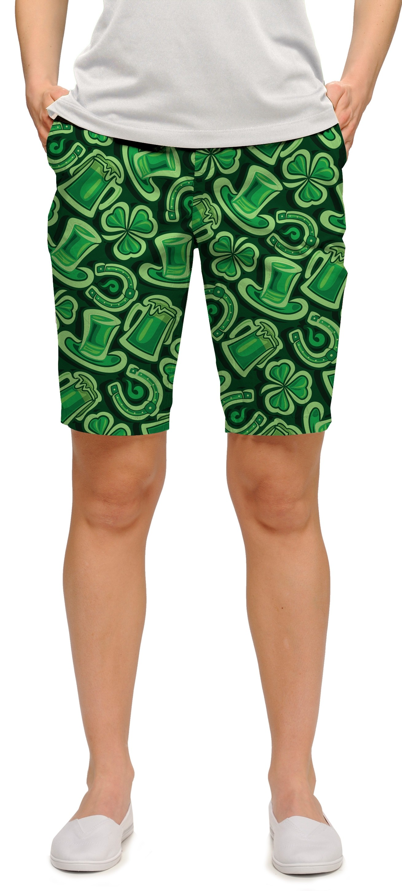 Fore Leaf Clover StretchTech Women's Bermuda Short MTO