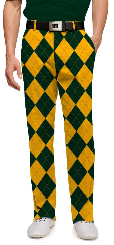 Hunter Green & Gold Mega Men's Pant MTO