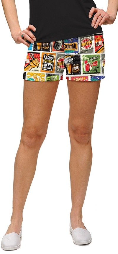 Loudmouth Soup StretchTech Women's Mini Short MTO