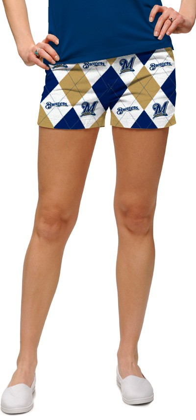 Brewers Argyle Women's Mini Short MTO