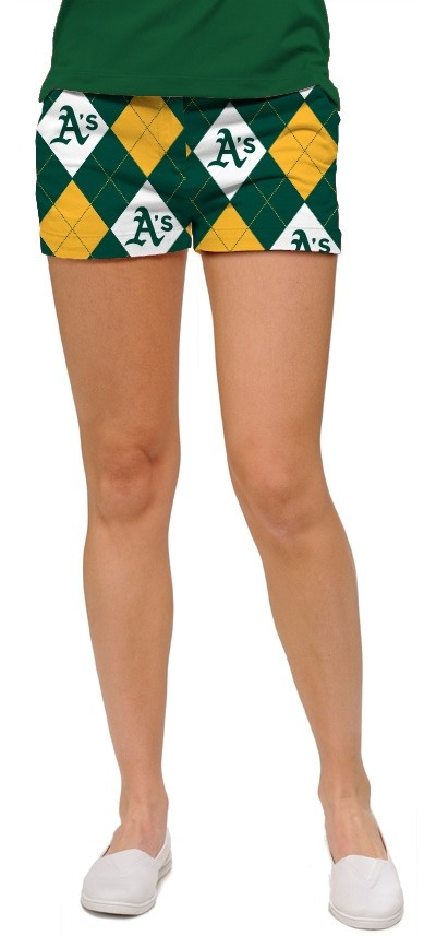 Athletics Argyle StretchTech Women's Mini Short MTO