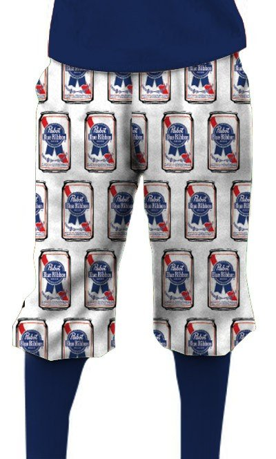 Pabst Blue Ribbon Cans Knickerbockers MTO
