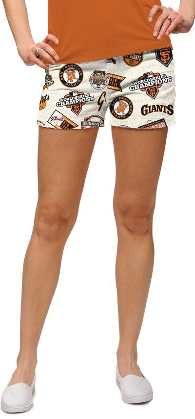 Giants Retro Women's Mini Short MTO
