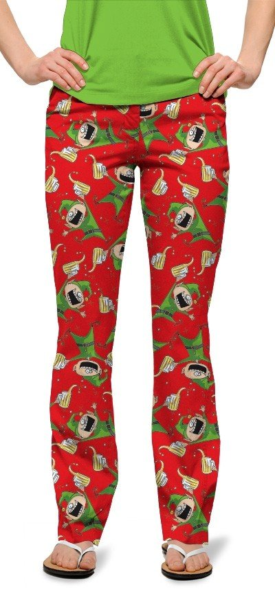 Santa's Little Helpers StretchTech Women's Capri/Pant MTO