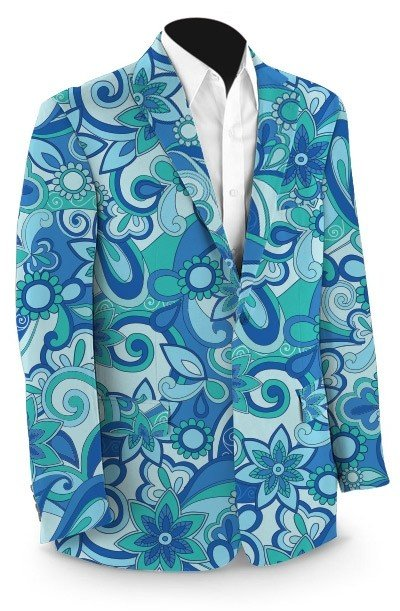 Summer of Love StretchTech Men's Sport Coat MTO