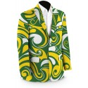 Green & Gold Splash Men's Sport Coat MTO