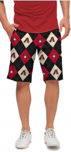 Diamondbacks Argyle StretchTech Men's Short MTO