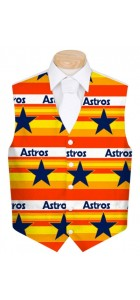 Astros Retro StretchTech Men's Vest MTO