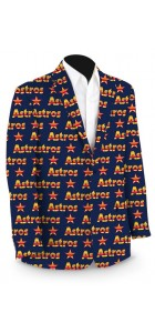 Astros Retro Logo StretchTech Men's Sport Coat MTO