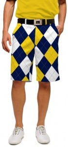 Blue & Gold Mega StretchTech Men's Short MTO