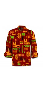 Bohemian Chef Coat MTO