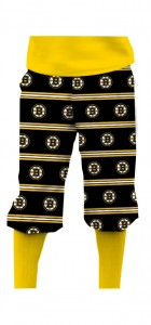 Boston Bruins Jersey Stripe StretchTech Knickerbockers MTO