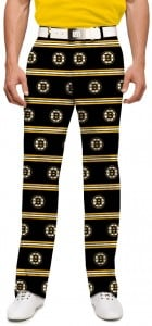 Boston Bruins Jersey Stripe StretchTech Men's Pant MTO