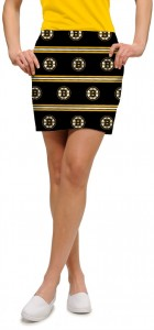 Boston Bruins Jersey Stripe StretchTech Women's Skort/Skirt MTO