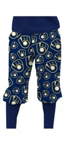 Brewers Retro Navy StretchTech Knickerbockers MTO