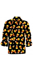 Candy Corn Chef Coat MTO