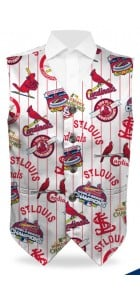 Cardinals Retro StretchTech Men's Vest MTO