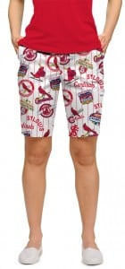 Cardinals Retro StretchTech Women's Bermuda Short MTO