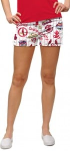Cardinals Retro StretchTech Women's Mini Short MTO