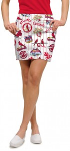 Cardinals Retro StretchTech Women's Skort/Skirt MTO