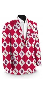 Cardinals Argyle Men's Sport Coat MTO