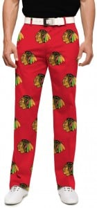 Chicago Blackhawks Red StretchTech Men's Pant MTO