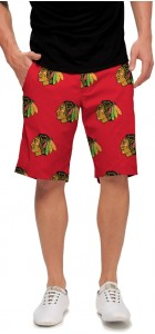 Chicago Blackhawks Red StretchTech Men's Short MTO