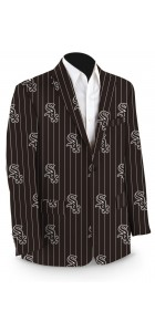 White Sox Pinstripe Men's Sport Coat MTO