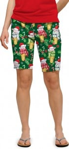 Christmas Pigs StretchTech Women's Bermuda Short MTO
