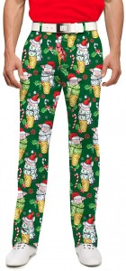 Christmas Pigs StretchTech Men's Pant MTO