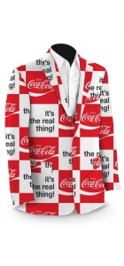 Coca-Cola It's the Real Thing StretchTech Men's Sport Coat MTO
