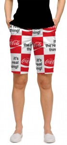 Coca-Cola It's the Real Thing StretchTech Women's Bermuda Short MTO