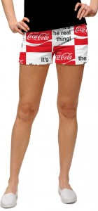 Coca-Cola It's the Real Thing StretchTech Women's Mini Short MTO