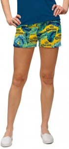 Corona Palm Fronds StretchTech Women's Mini Short MTO