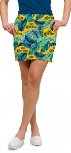 Corona Palm Fronds StretchTech Women's Skort/Skirt MTO