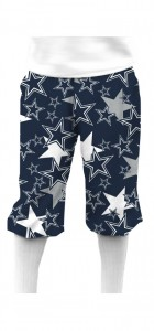 Cowboys Star Navy StretchTech Knickerbockers MTO