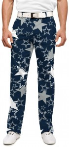 Cowboys Star Navy StretchTech Men's Pant MTO