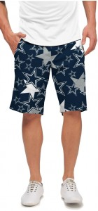 Cowboys Star Navy StretchTech Men's Short MTO