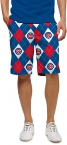 Cubs Argyle StretchTech Men's Short MTO