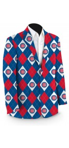 Cubs Argyle Men's Sport Coat MTO