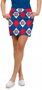 Cubs Argyle StretchTech Women's Skort/Skirt MTO