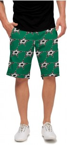 Dallas Stars Green StretchTech Men's Short MTO