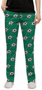 Dallas Stars Green StretchTech Women's Capri/Pant MTO
