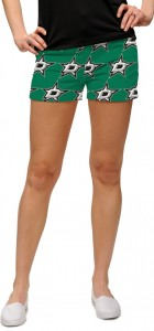 Dallas Stars Green StretchTech Women's Mini Short MTO