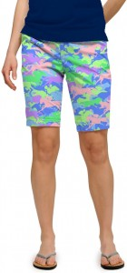 Derby Camo StretchTech Women's Bermuda Short MTO