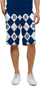 Detroit Tigers Argyle Men's Short MTO