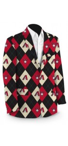 Diamondbacks Argyle StretchTech Men's Sport Coat MTO